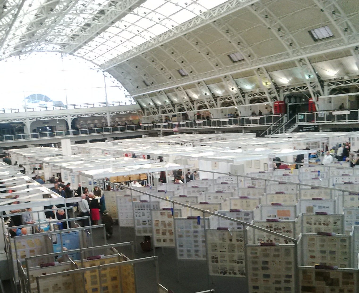 WHAT A BEAUTIFUL EXHIBITION! SPRING STAMPEX 2015
