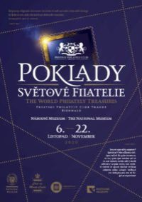 'TREASURES OF WORLD PHILATELY' Exhibition in Prague is going ahead.